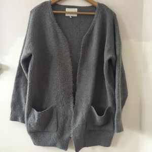 OAK + FORT open cardigan sweater